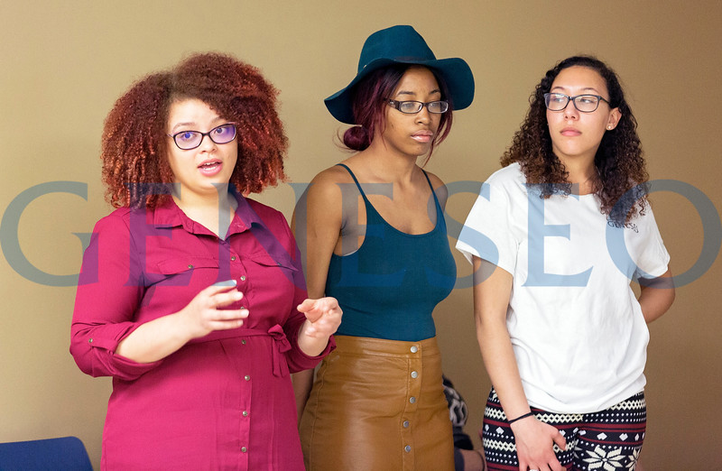 the PUSH Team (People United to Stop Hate) where the students will run a discussion about whitewashing - Hollywood films that cast white actors in parts originally imagined as people of color.