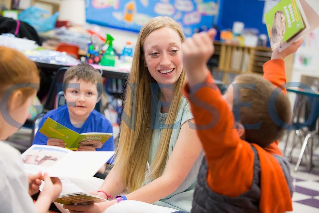 Spring 2017 Allie Henry '17 Student Teaching at Dansville Elementary School