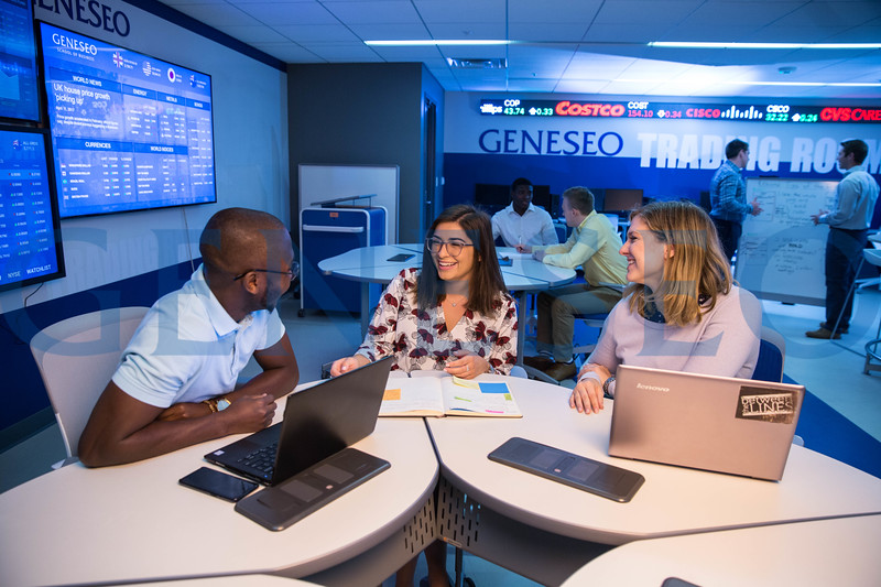 Geneseo Trading Room School of Business