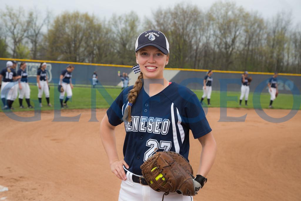 Abby Dennett Softball Portrait Spring 2017 KW