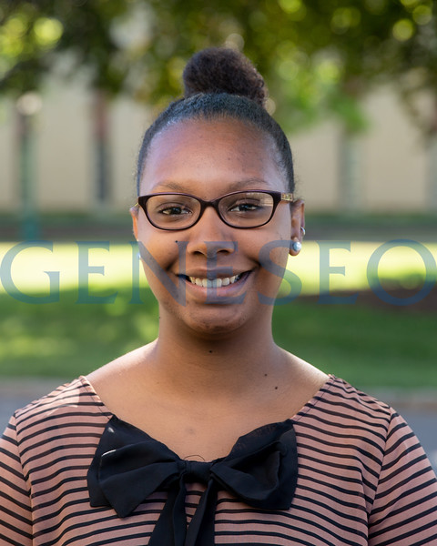 Chalyne Barrow McNair Scholar spring 2018 KW