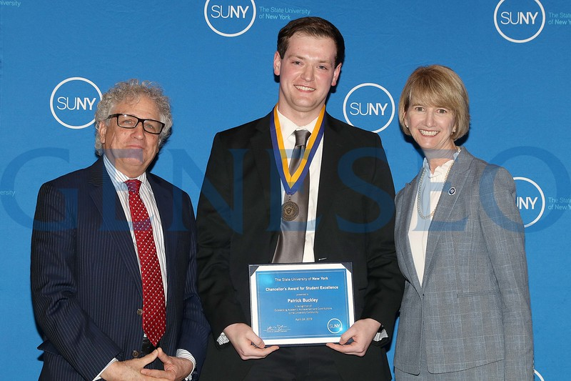 2019 Chancellor's Award for Student Excellence Patrick Buckley