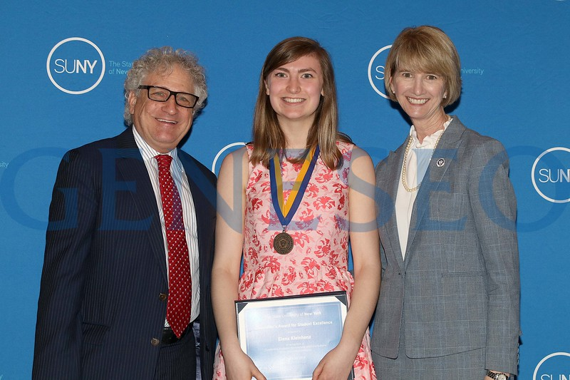 2019 Chancellor's Award for Student Excellence Elena Kleinhenz