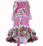 Harness Dog Dress  Description: Retro Print Day Dress Pink Item Number # CC Retro Print Dress