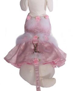 Harness Dog Dress  Description: Rose Flair Dress Item Number # CC Rose Flair