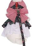 Harness Dog Dress  Description: Cherry Pie Item Number # CC Cherry Pie Dress