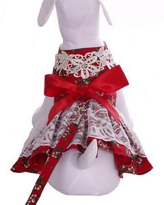 Harness Dog Dress  Description: Peppermint Dress Item Number # CC Peppermint Dress