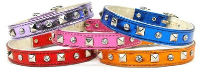 Metallic Designer Dog Collars (MRG)