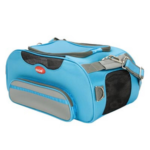 "ARGO Aero-Pet Airline Approved Carrier  SIZE: Small STYLE: AC50638S COLOR: Berry Blue PRICE: $115.00 Pet Supply Coupons also available on our main web site.  * Great Style – Super Convenient – Exceeds TSA Requirements * Quality made from 840 denier nylon fabric * Water resistant base and side panels are padded and removable for quick clean up during travel * 6 dual layer mesh windows on ALL sides for ventilation and security * Quick Access - Large top zipper opening * Exceptionally lightweight – Perfect for long trips * Easy to clean – Just rinse with water  Actual Measurements: 18.5"" L x 10.5"" W x 8.5"" H Net weight: 3.5 lbs.    http://www.teacupandtoypetsboutique.com/PetSupplies.html      ^ Pet Supply Directory Click Here  ^   Detailed information, order forms and prices on our most popular pet products.   Link Updated 2-13-2010"