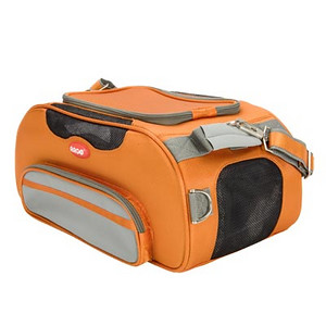 "COLOR: Tango Orange  STYLE: AC51655S  * Great Style – Super Convenient – Exceeds TSA Requirements * Quality made from 840 denier nylon fabric * Water resistant base and side panels are padded and removable for quick clean up during travel * 6 dual layer mesh windows on ALL sides for ventilation and security * Quick Access - Large top zipper opening * Exceptionally lightweight – Perfect for long trips * Easy to clean – Just rinse with water  Actual Measurements: 18.5"" L x 10.5"" W x 8.5"" H Net weight: 3.5 lbs. -------------------------------------     http://www.teacupandtoypetsboutique.com/PetSupplies.html      ^ Pet Supply Directory Click Here  ^   Detailed information, order forms and prices on our most popular pet products.   Link Updated 2-13-2010"