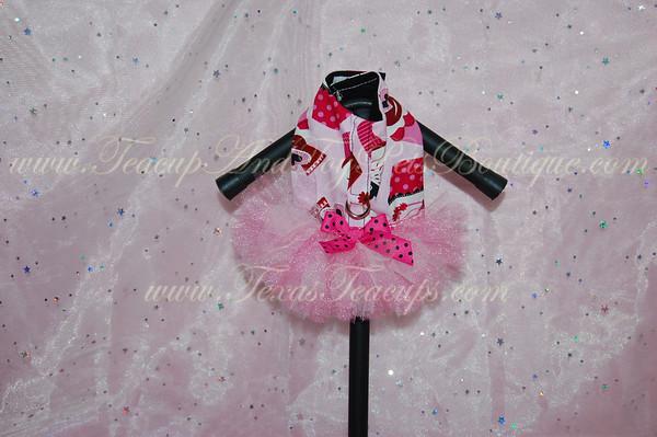 Pink Cupcake TuTu