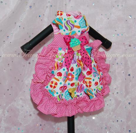 Pink Candy Cupcake