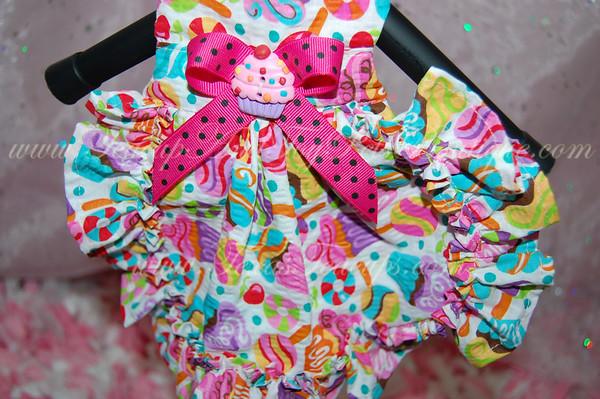 Hot Pink Candy Cupcake