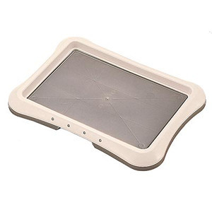 """Richell's PAW TRAX® Training Tray is a definite must for new pet parents as well as pet owners with long-time companion pets. Paw Trax®   Training Tray. Tray Size: 25.2"""" x 18.9"""" x 1.6"""" H (64 x 48 x 4cm)"""