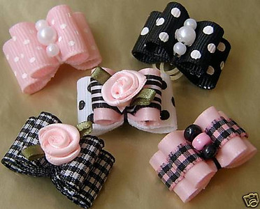 Luxury Dog Bows