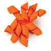 Teacup And Toy Dog Bows<br /> Item Number: DT <br /> COLOR: Citrus Orange