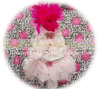 Rose Special Occassion Dog Party Dress