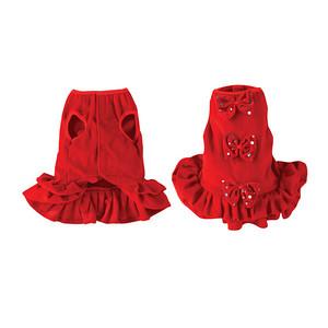 Dog Apparel Red Dog Sundresses Item Number # US 629 Red Dog Dress