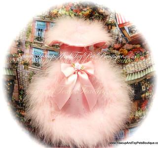 Pink Sparkle Party Dog Dress
