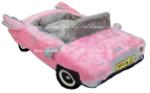 Pink Cadillac Car Bed
