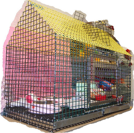 Puppy Playhouse and Training Crates
