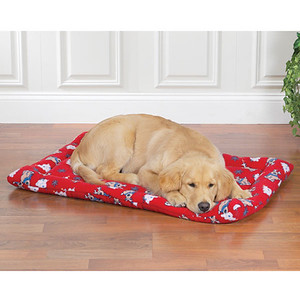 Customers have their choice of Christmas Blanket. First Choice: Reindeer Puppy Blanket. Second Choice: Snowman Puppy Blanket. Third Choice: Santa Puppy Blanket. Fourth Choice: Thick Red Travel Pad Blanket. ( Thick Red Travel Pad Blanket shown in this photo )  Free Puppy Starter Package with puppy purchase.  Click link below to see all of the perks and free items included with your puppy purchase.  http://www.texasteacups.com/Puppy_Starter_Package.php ↑ Click Here ↑   To see all of our new puppy starter packages.