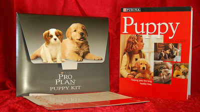 Colorful Puppy Care Guide Book with Photos.  Free Puppy Starter Package with puppy purchase.  Click link below to see all of the perks and free items included with your puppy purchase.  http://www.texasteacups.com/Puppy_Starter_Package.php ↑ Click Here ↑   To see all of our new puppy starter packages.
