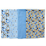 Discription: Free Puppy Travel Pad Item Number & Price Option: # 4 Color: Blue Polka Dots Color: Solid Blue Color: Polka Dots Color: Blue with dark circles Color: Blue with black dots