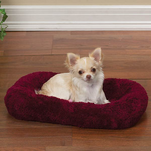Travel Pad Option # 6 Discription: Deluxe Plush Crate Mat Item Number: # ZW 8192 Red