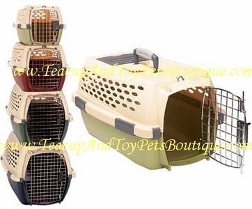 Pet Mate Travel Carrier is airline approved.