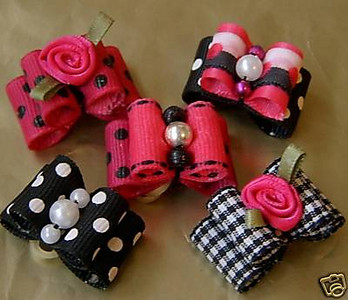 Starter Package Option # 4 ( Puppy Bows )