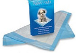 Our super-absorbent Clean Go Pet™ Puppy Pads take the hassle out of house training puppies. Advanced polymer technology provides extra absorption. These pads feature leak-proof backing and sealed edges to ensure easy clean-up. Specially-scented pads will attract and encourage pets to use the pad. Great for puppies and for dogs that are incontinent.   Once the dog is accustomed to using the pads, they can be placed outdoors to encourage dogs to eliminate outside.