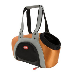"""ARGO ARGO Action Petpack Carrier Kiwi Green SIZE: Small STYLE: AC11655S COLOR: Tango Orange PRICE: $98.00 Pet Supply Coupons also available on our main web site. * Hip, Adorable and Trendy Design * Ultra light weight * Innovative carrier design tapered to your pet's body * Rugged 840 denier nylon exterior * Quality molded EVA for total support * Double handled for increased shoulder support and padded for supreme comfort * Ample Peek-A-Boo opening for pet's head * Collar attachment to secure pet to carrier * Dual layer mesh windows on both sides * Water resistant padding in bottom of carrier * Actual Measurements: 15"""" L x 8.5"""" W x 9.5"""" H  * Product actual weight: 2.10 lbs.  THE HEIGHT OF FASHION IN PET CARRIERS  With perfect asymmetric design and handbag style, this is the best city tote for your pampered pooch. Arrive in style no matter where you are headed with your doggie sidekick. Unlike competitors' standard and bland carriers, the fashionable Peek-A-Boo is shaped to fit a pet's body, offering the ultimate in comfort and snugness. Large enough that your pooch can sit down or stand, with ample room to move around, and a Peek-A-Boo hole to enjoy the scenery. In your choice of four delicious colors – petal pink, tango orange, kiwi green and berry blue.  THE ULTIMATE URBAN CARRIER: Our innovative pet carrier is casually chic and very light. Made of quality 840 denier nylon fabric and sporting dual layer mesh ventilated windows. High quality padded shoulder straps make the Peek-A-Boo carrier the best choice for supporting your shoulders and reducing back pain.  DESIGNED TO IMPRESS – BUILT TO LAST For a day of designer shopping or a late lunch with friends, take your diva doggie along in a fashionable tote carrier. The strong denier nylon exterior is built to last and cleanup is a snap; just rinse with water and you are done! The ventilated carrier keeps your pet secure and calm; the fleece lined interior cocoons your pet in comfort and softness."""