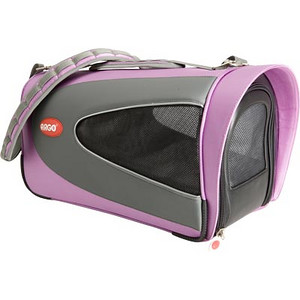 "ARGO Petascope Carrier  Item Number: AC20376M Color: Kiwi Green SIZE: Small Price: $99.00 ------------------------------ * Quality made from 840 denier nylon fabric * Water resistant base padding offers total pet comfort during transport * Dual layer mesh windows on ALL sides for ventilation and pet visibility * Easy-Out! Large front zipper opening for quick access * Ultra lightweight design – Comfortable for pet parents too! * Easy to clean – Just rinse with water     Actual Measurements: 16"" L x 11"" W x 9.25"" H  Net weight: 3.06 lbs."