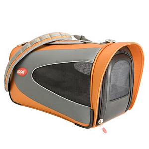 "ARGO Petascope Carrier  Item Number: AC21655S SIZE: Small Color: Tango Orange Price: $99.00 ------------------------------ * Quality made from 840 denier nylon fabric * Water resistant base padding offers total pet comfort during transport * Dual layer mesh windows on ALL sides for ventilation and pet visibility * Easy-Out! Large front zipper opening for quick access * Ultra lightweight design – Comfortable for pet parents too! * Easy to clean – Just rinse with water     Actual Measurements: 16"" L x 11"" W x 9.25"" H  Net weight: 3.06 lbs."