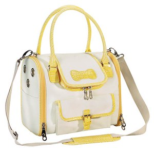 Soft Sided Dog Carrier Style: Front Opening Soft Side Dog Carrier COLOR: Yellow Item Number: ZW 872