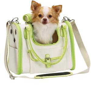 1. ON BACKORDER  Soft Sided Dog Carrier Style: Front Opening Soft Side Dog Carrier COLOR: Lime Green Item Number: ZW 872