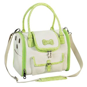 Soft Sided Dog Carrier Style: Front Opening Soft Side Dog Carrier COLOR: Lime Green Item Number: ZW 872