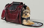 Soft Sided Dog Carrier Style: Side Opening Soft Side Dog Carrier COLOR: Cranberry No longer avaiable in this color Item Number: ZW 702