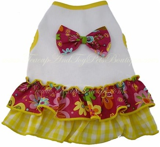 Item Number # ISP 967510 BEACH PARTY DRESS Pet Supply Directory with detailed information about our most popular pet products. Click here >http://www.teacuppetboutique.com/Pet_Supply_Directory.php  Or for online shopping cart Click Here > http://www.shop.texasteacups.com