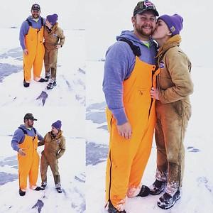 Ice fishing-H & G