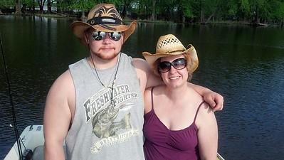 2013-Dana & Garrett fishing