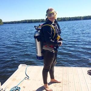 2016 Heidi diver certification