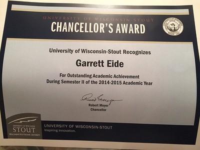 '14-'15 Chancellor's Award