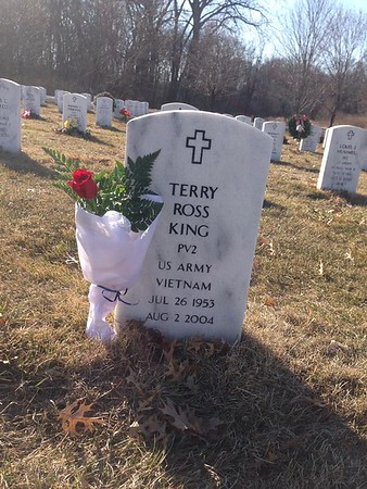 Terry King tombstone