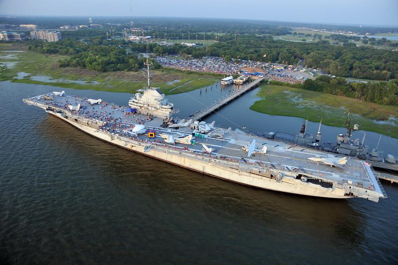USS Yorktown at Patriot's Point