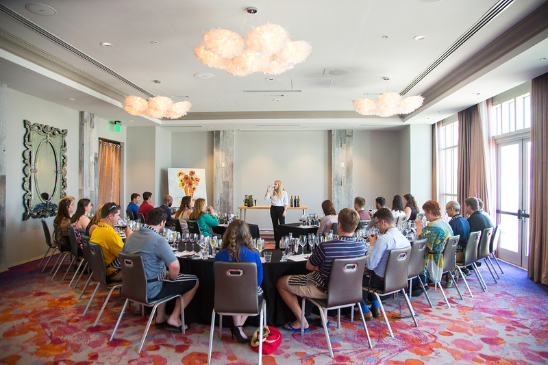 Interactive Wine Blending Class in Downtown Charleston