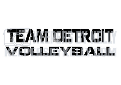 Team Detroit Volleyball Day 1 Jan 25th
