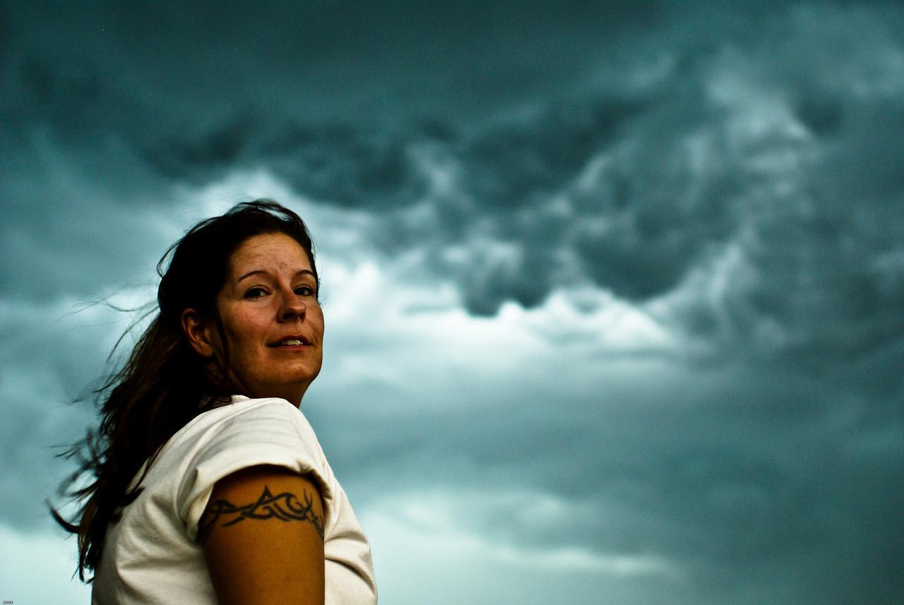 Missy Derham:  The teams general voice of reason..