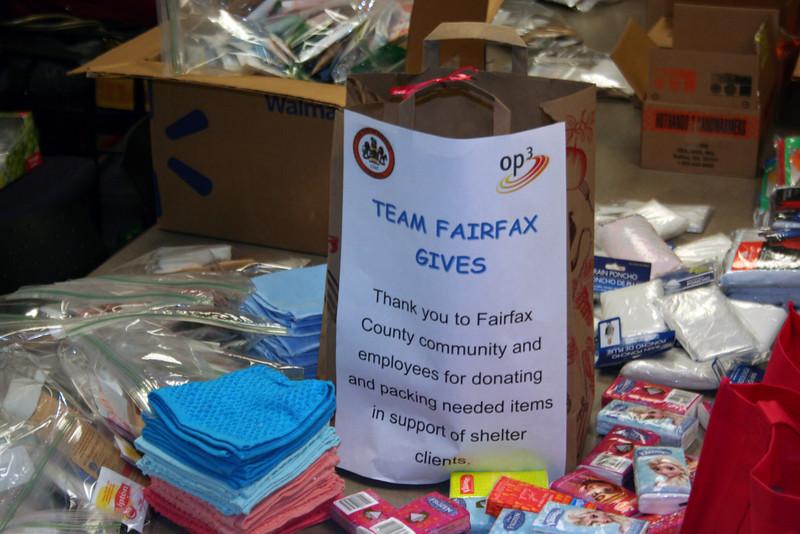 Team Fairfax Gives Back
